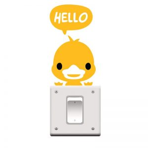 Sarı Sticker Hello TSTIC4512SR 1